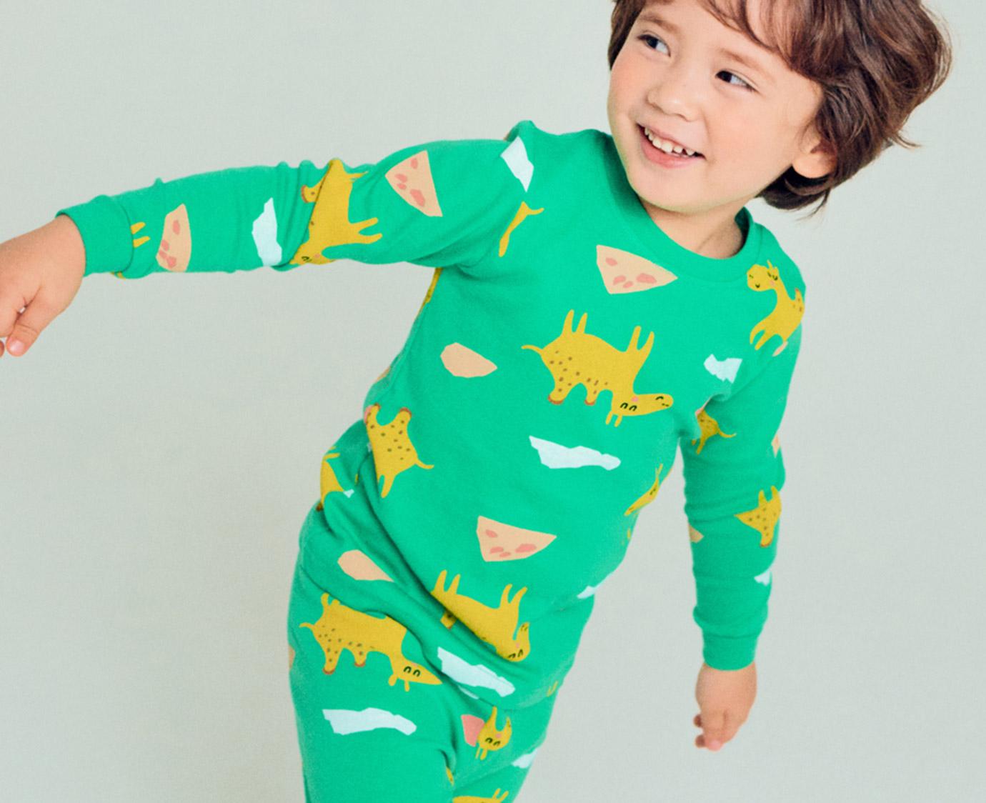 Pyjama 'Camel' Organic kleur