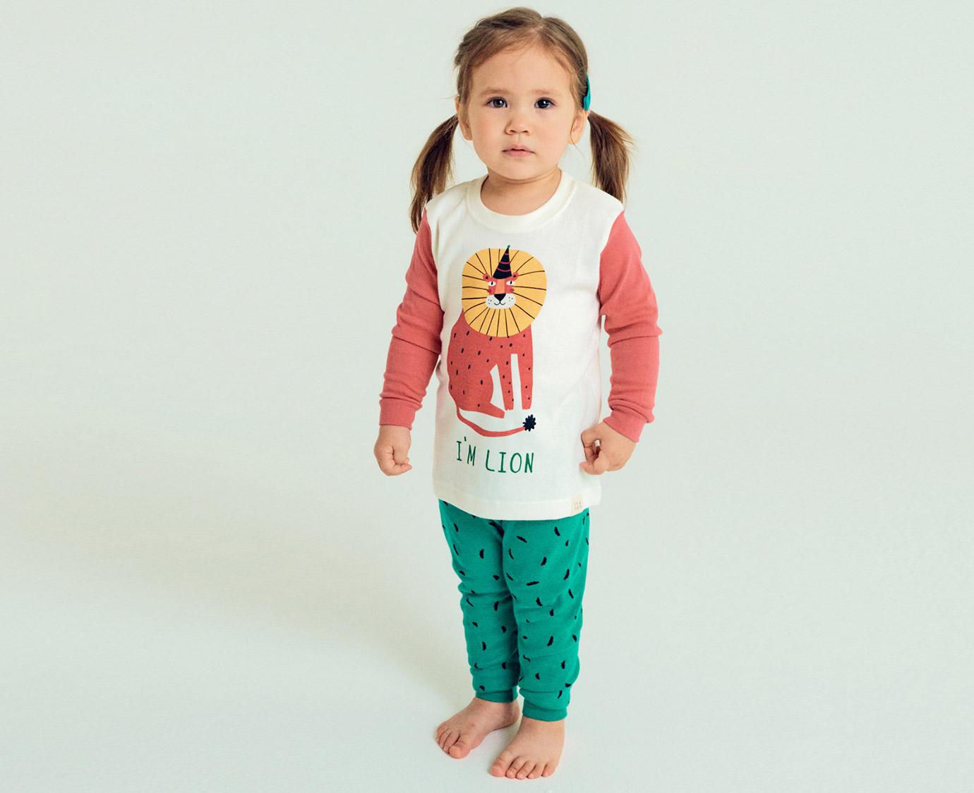 Pyjama 'Lion Roar' Organic