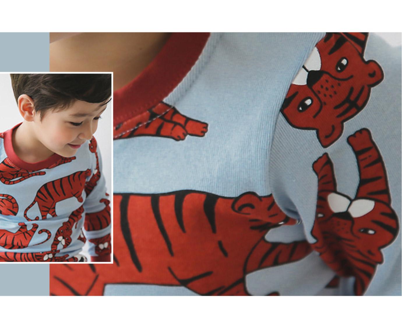 Pyjama 'Tiger' Organic