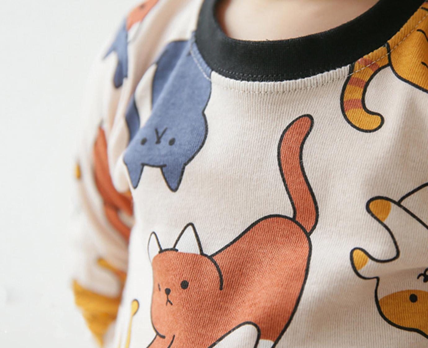 Pyjama 'Meow Friends' Organic