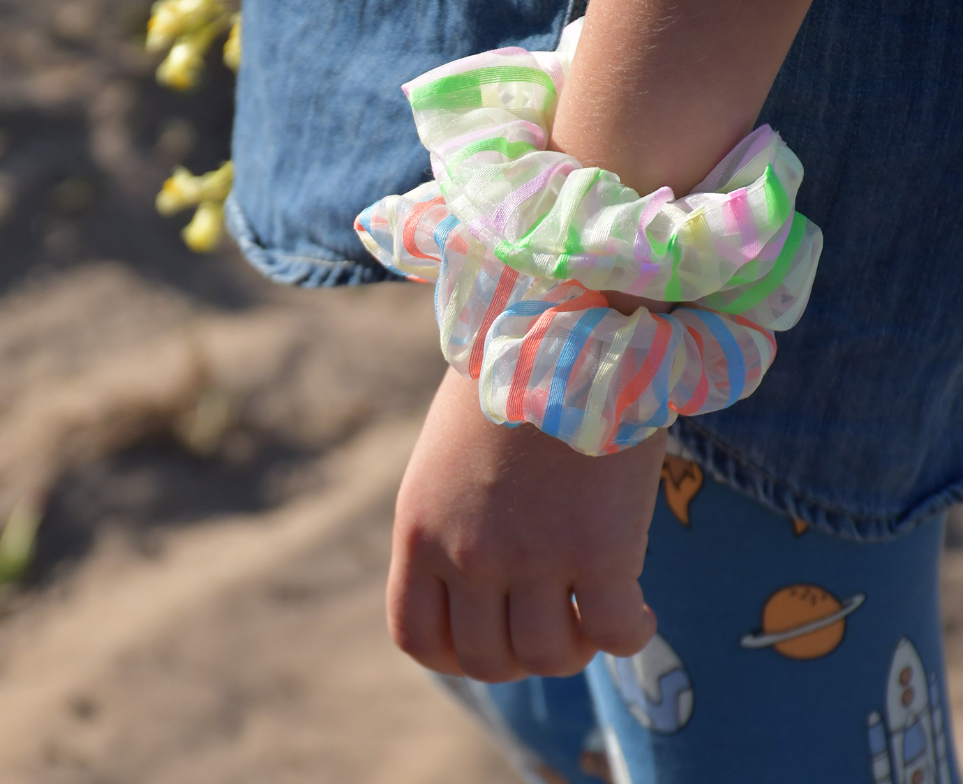 Scrunchies 'Neon Fun' kleur