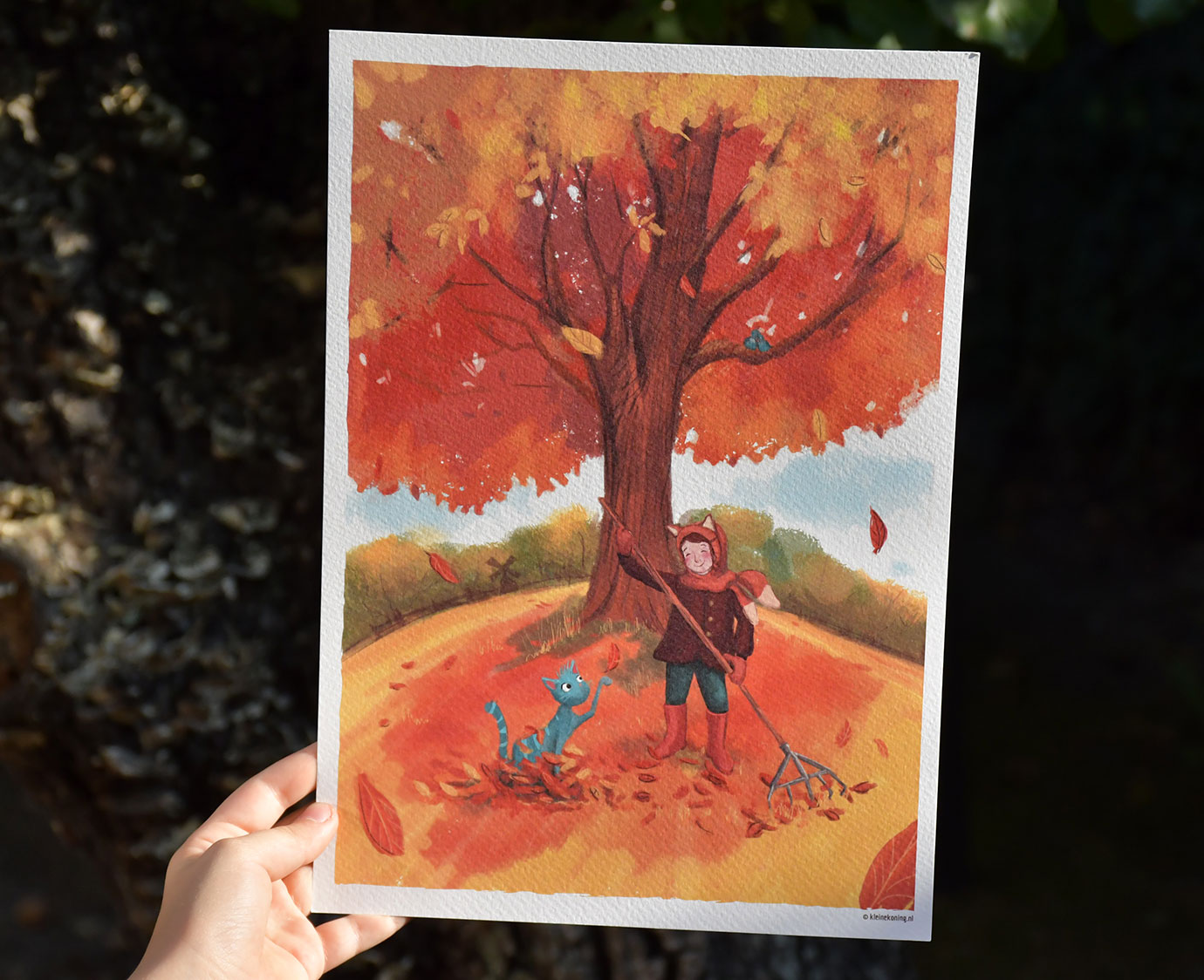 Poster 'Herfst'