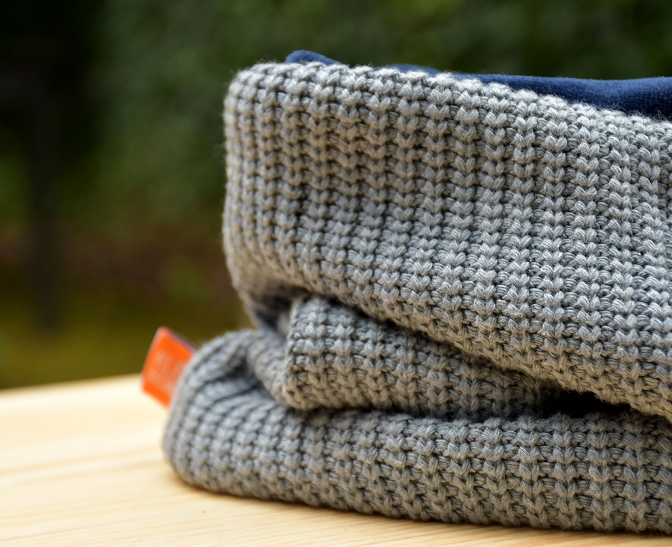 Colsjaal 'Knit Blue'