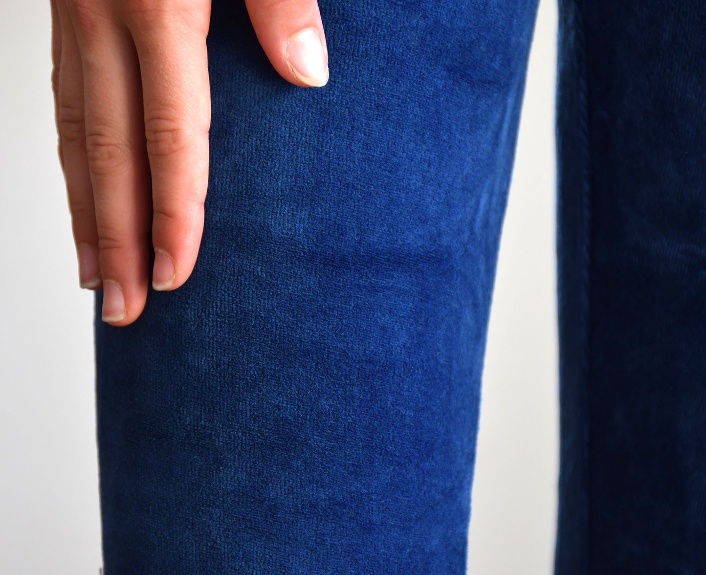 Legging 'Navy velours'