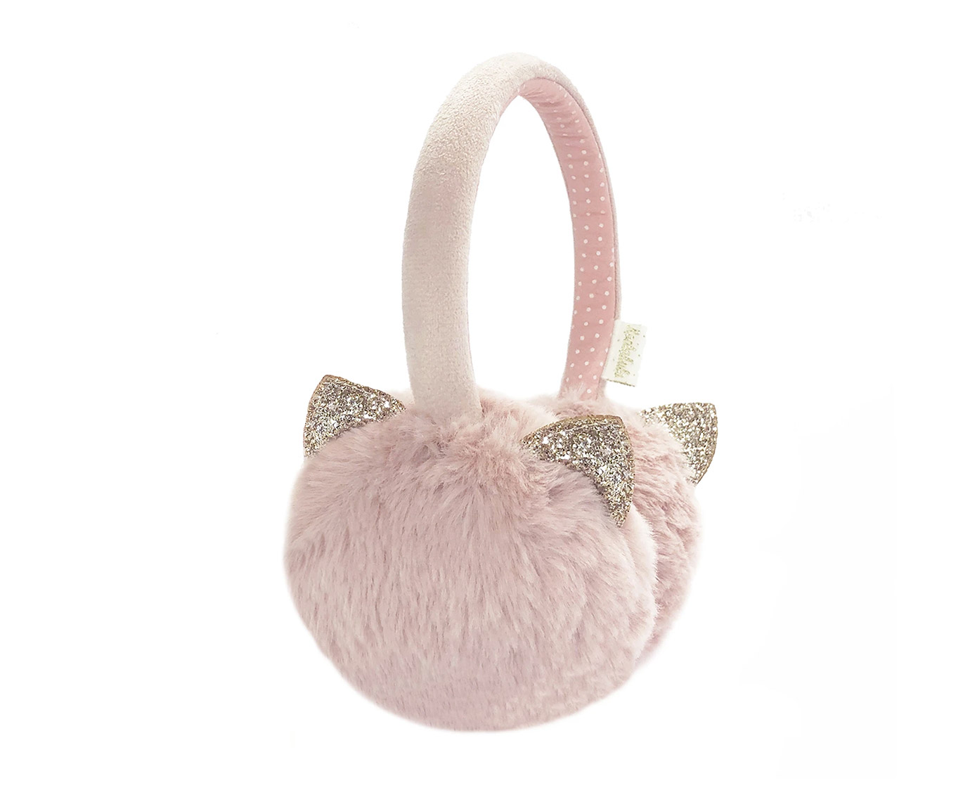 Oorwarmers 'Kitty Pink'