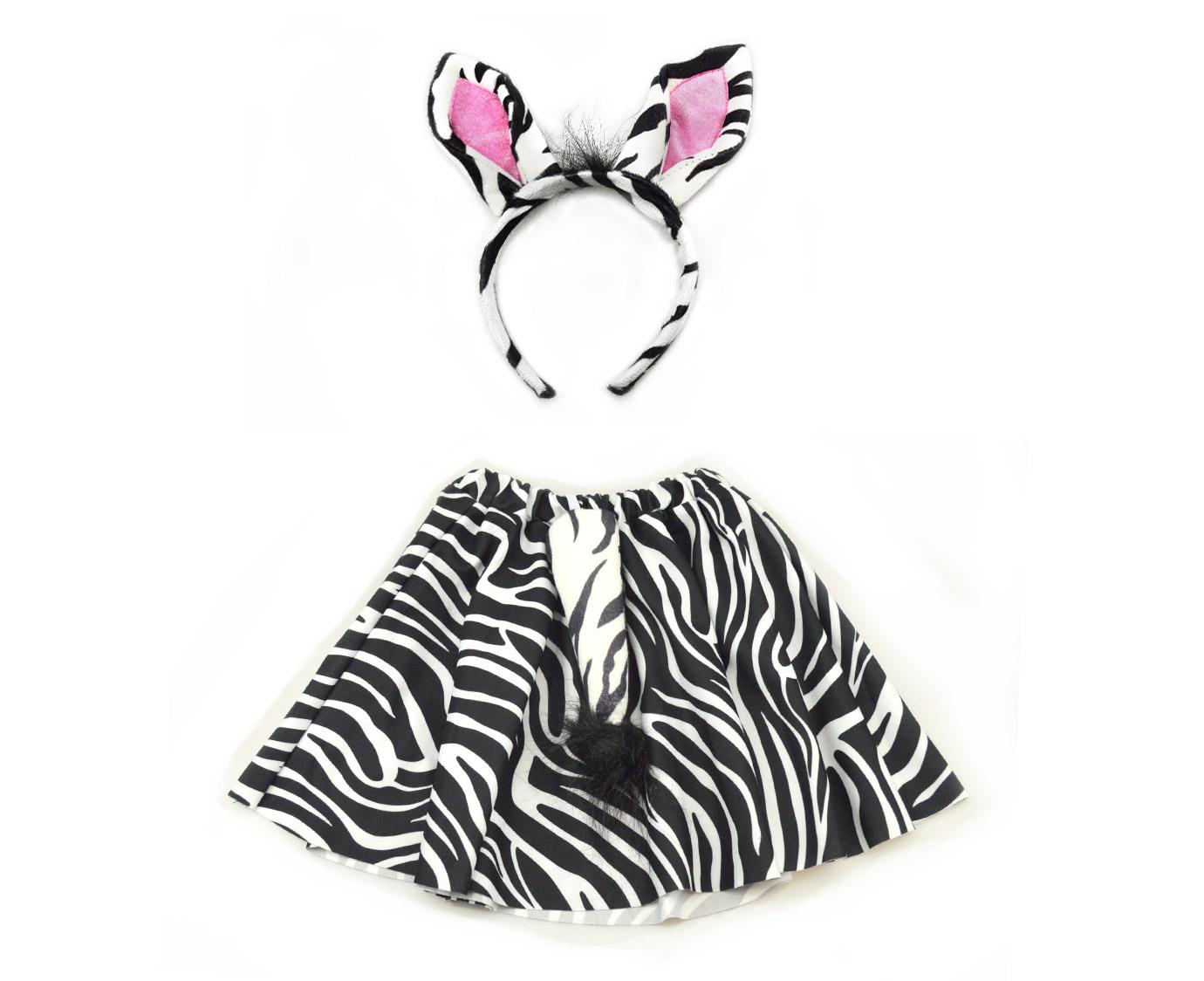 Set 'Zebra rok' kleur