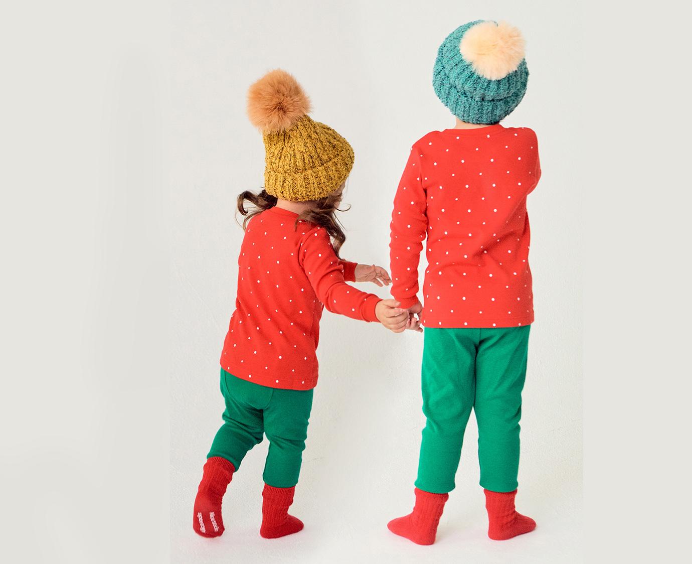 Pyjama 'Snowman' Organic
