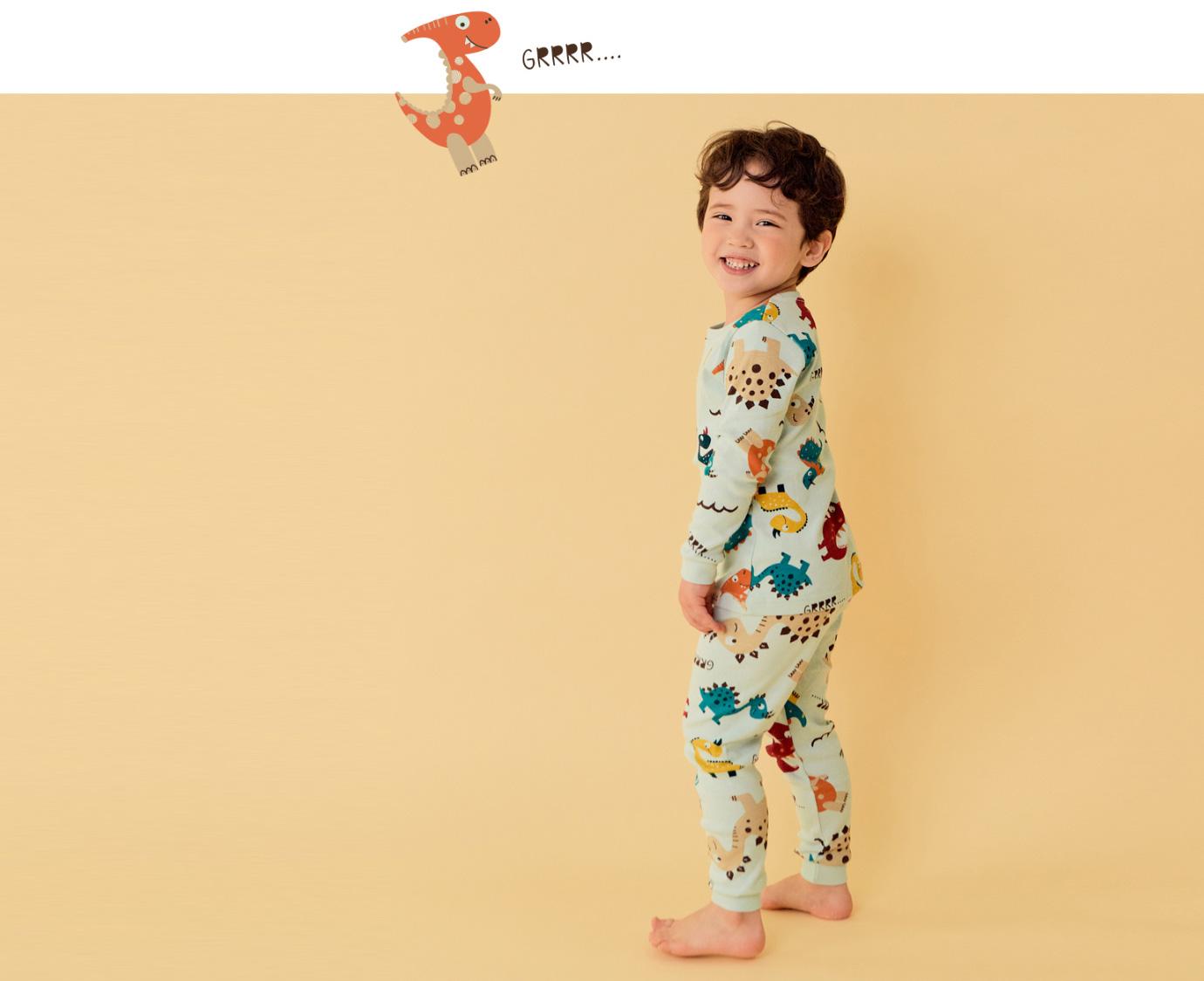 Pyjama 'Dino time' Organic