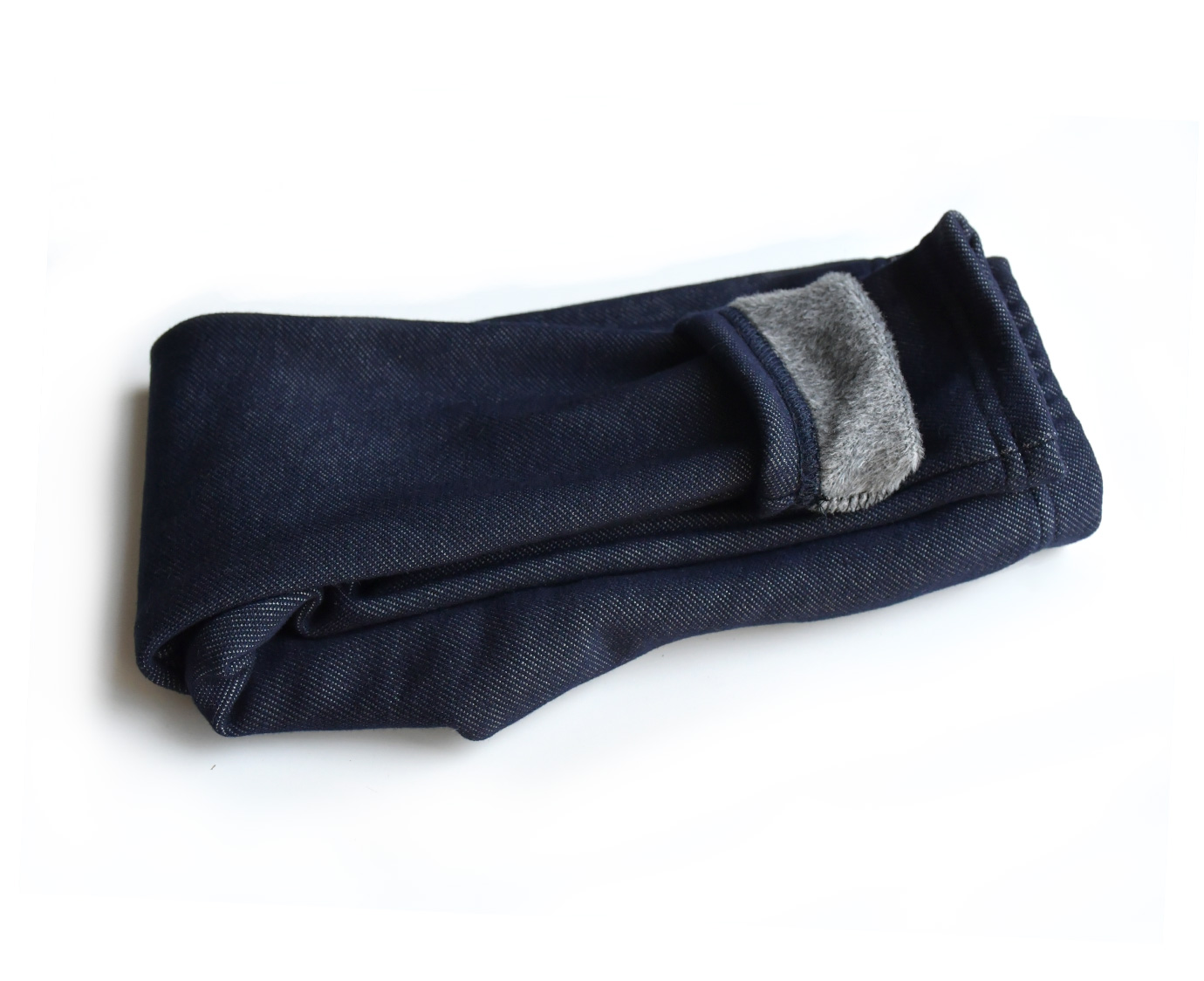 Legging 'Fleece Denim' kleur