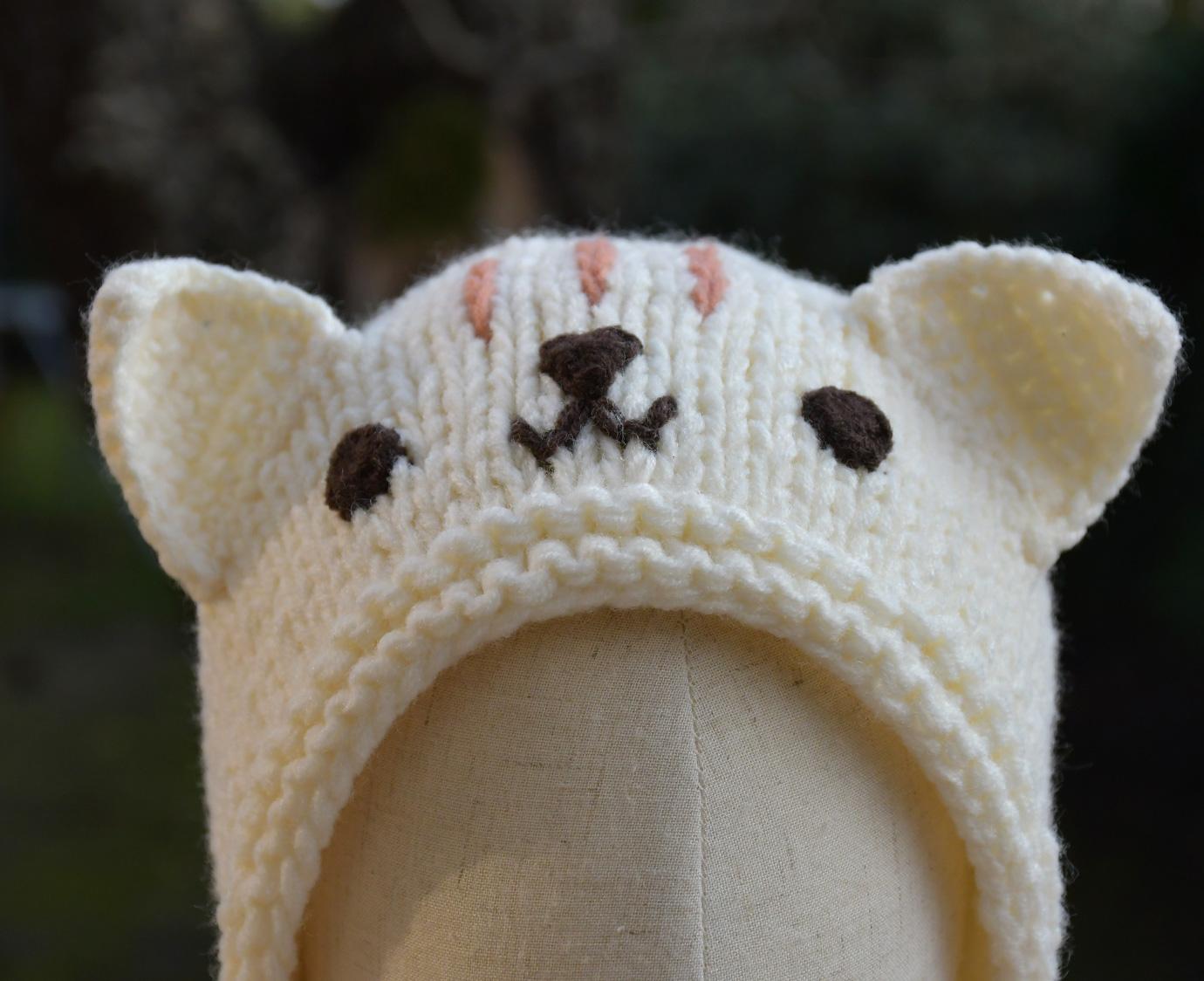 Kindermuts 'Cat Knit'