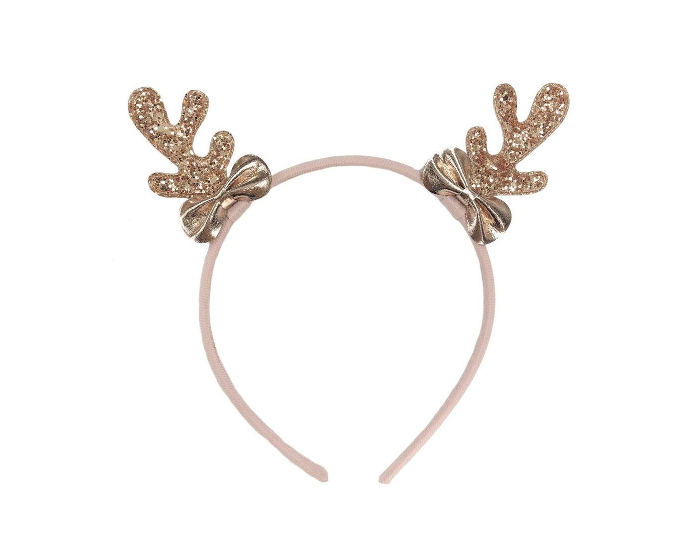 Diadeem 'Rose Gold reindeer'