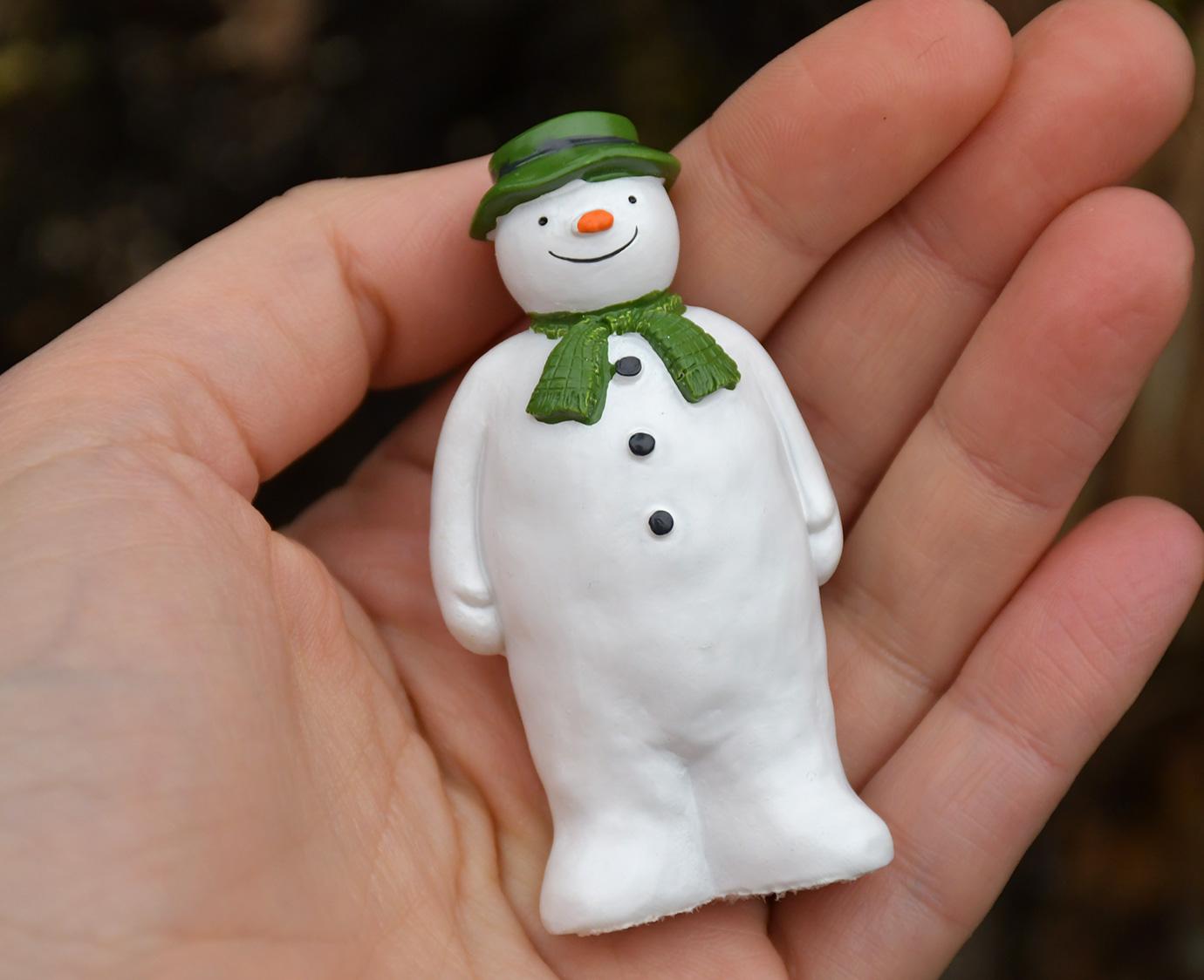 Taart figuur 'De Sneeuwman'