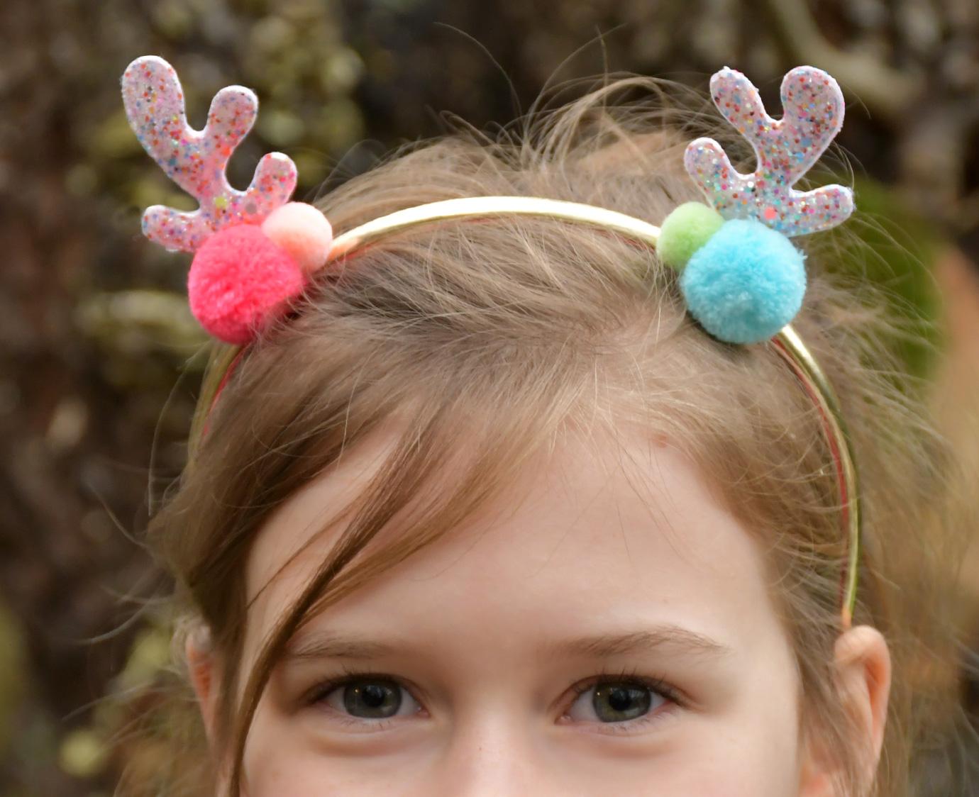 Diadeem 'Tutti Frutti Reindeer'