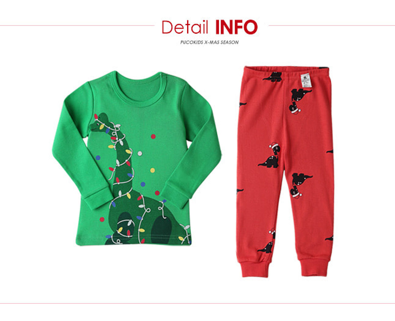 Pyjama 'Tree Saurus' Organic