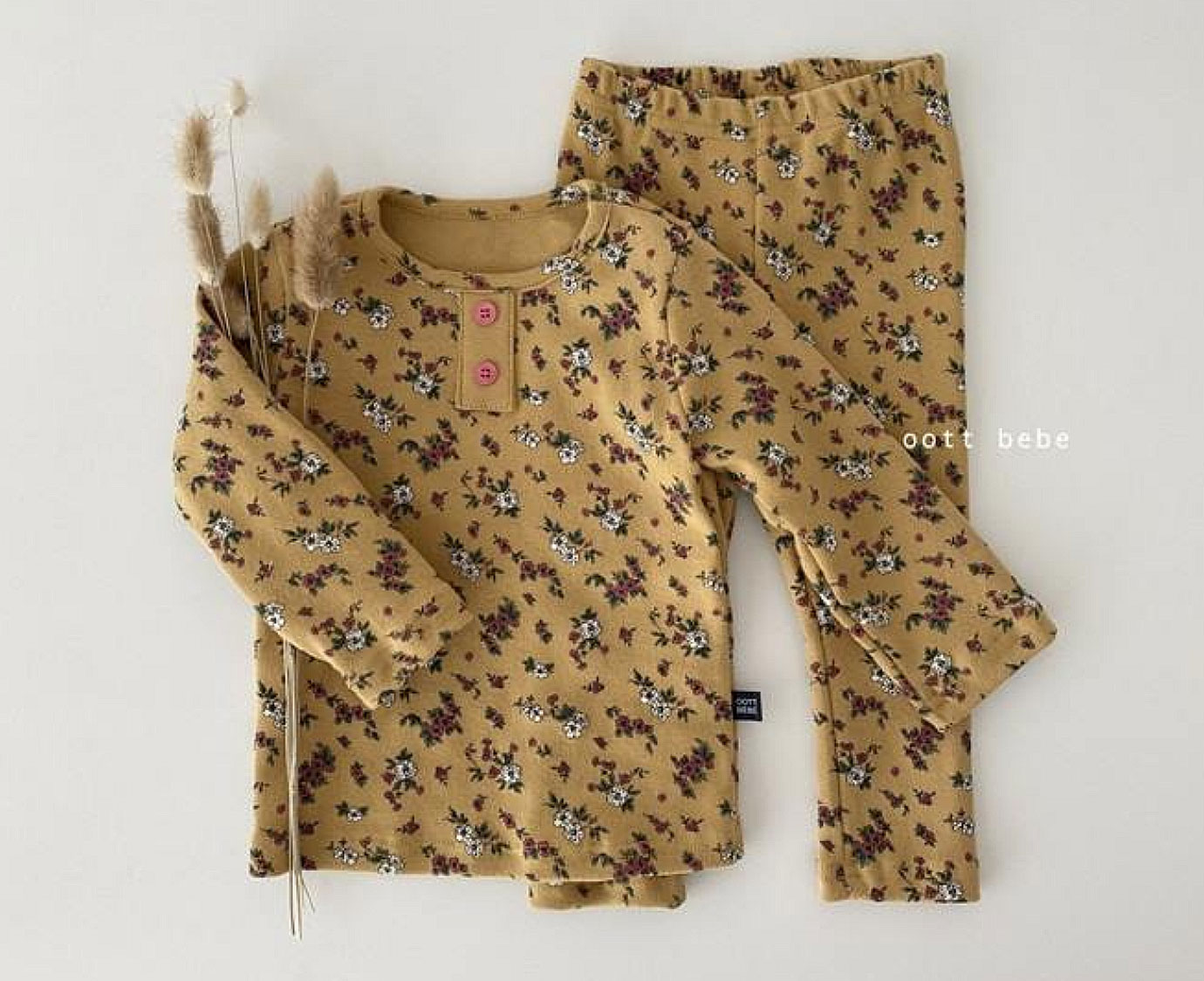 Loungewear  'Flower Oker'