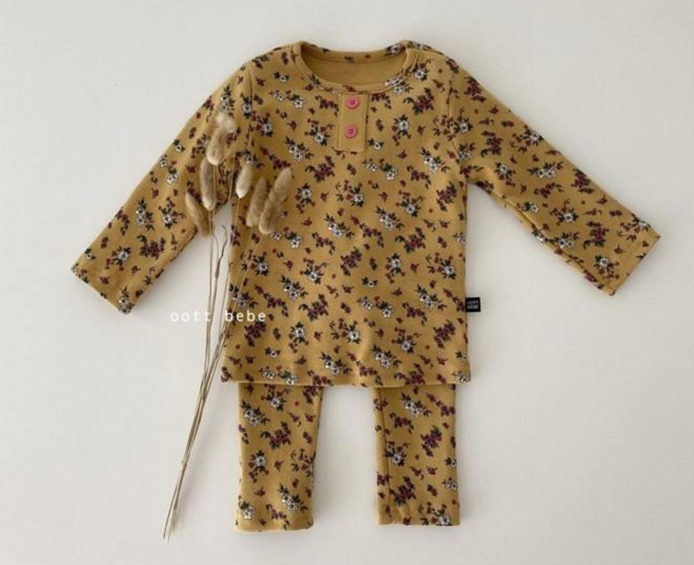 Loungewear  'Flower Oker'