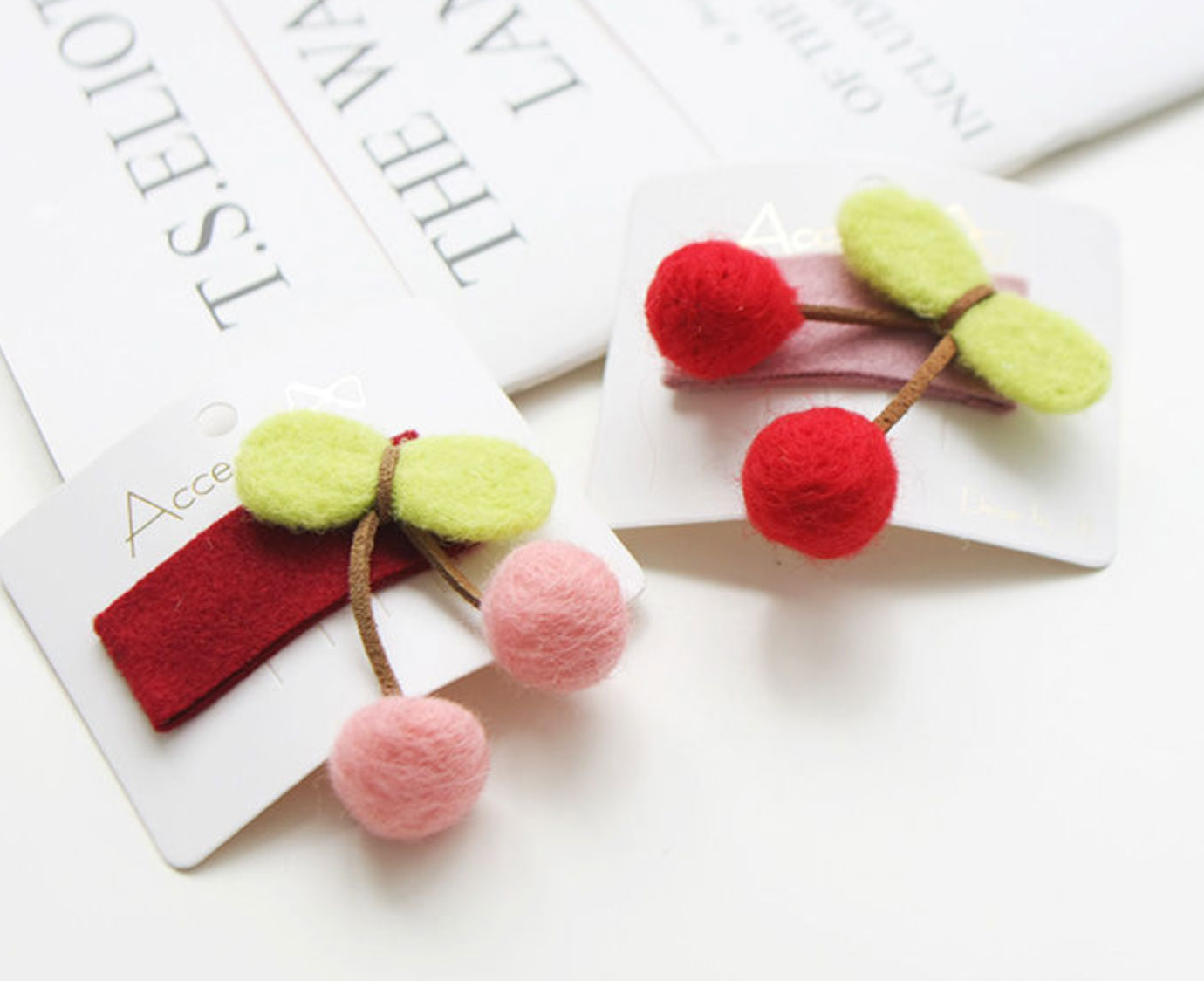 Set 'Kersen' kleur