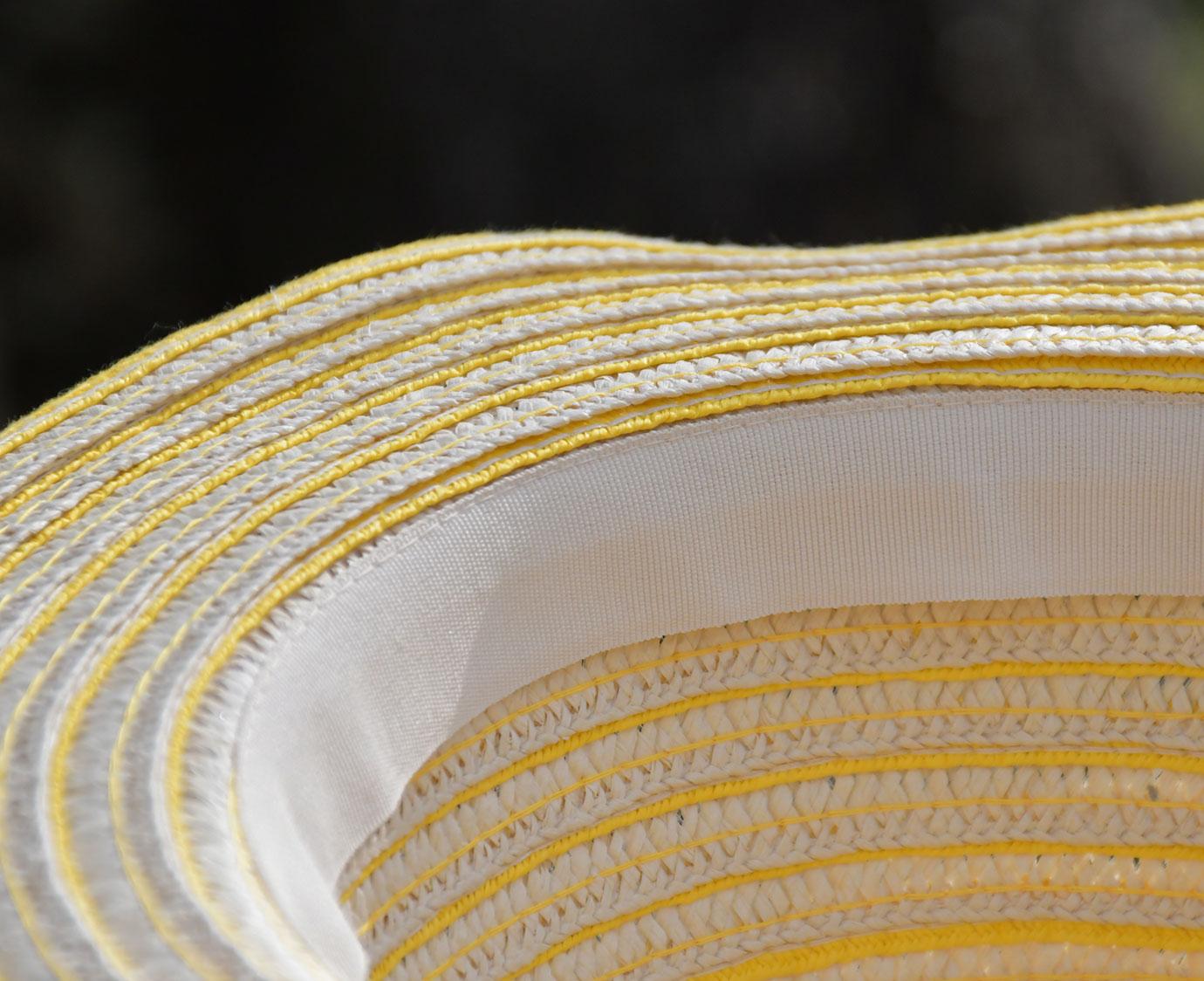 Zomerhoedje 'Summer stripe'