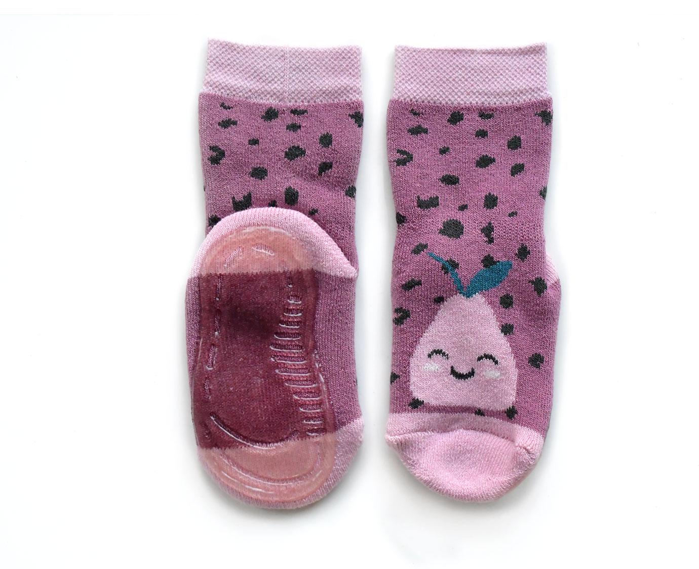Anti-Slip Sokken 'Pears' kleur