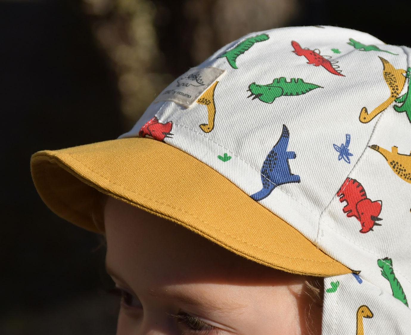 Zonnepet 'Dino flap'