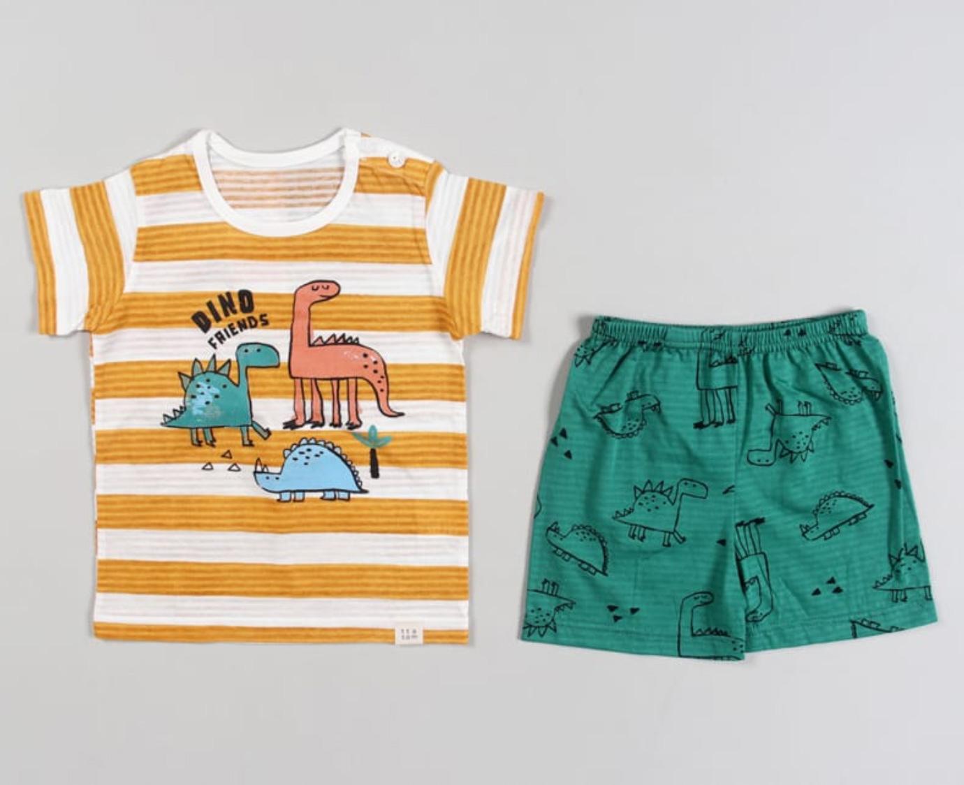 Pyjama ' Dino Stripes'