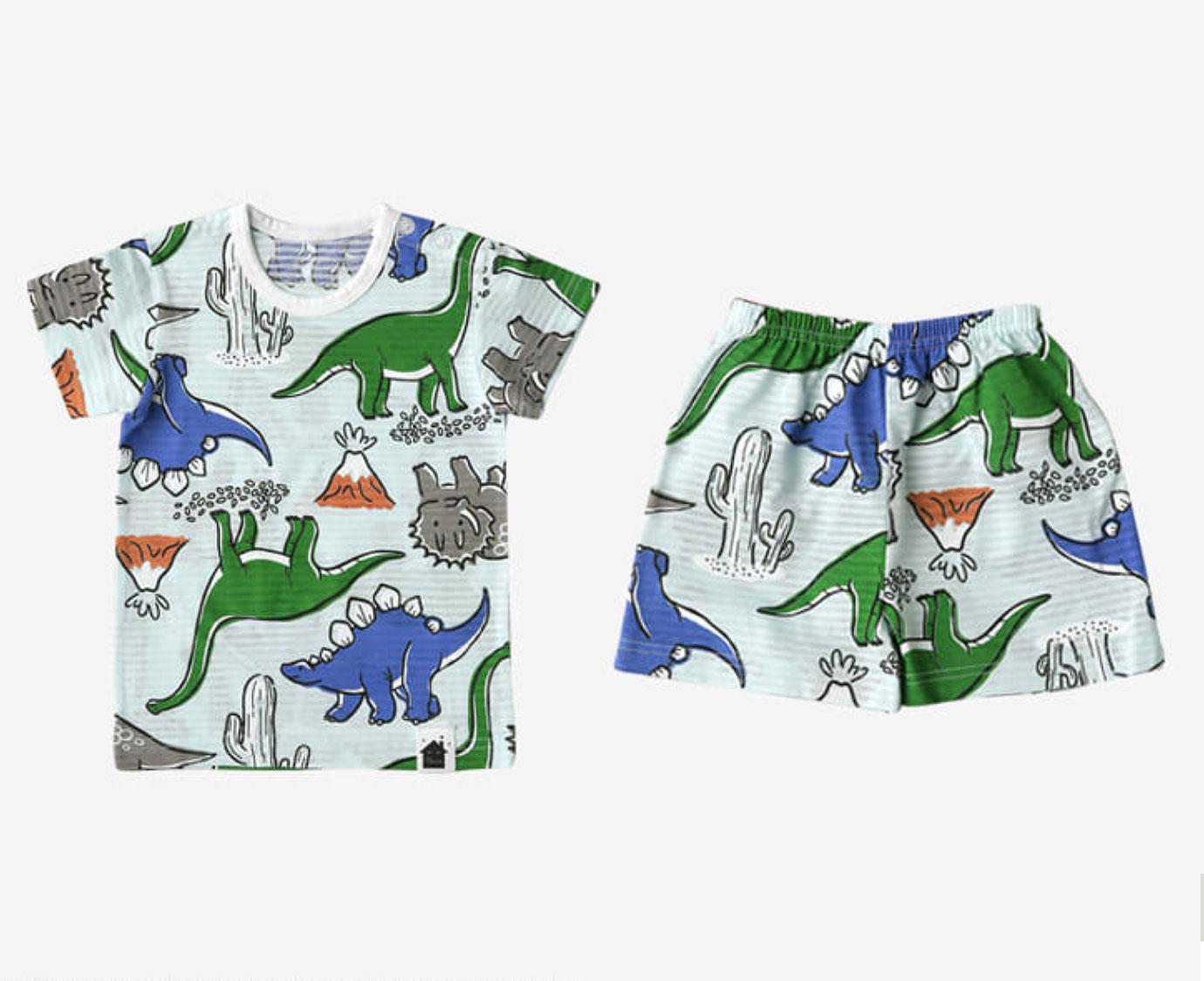 Organic Loungewear 'Dino Vulcano'