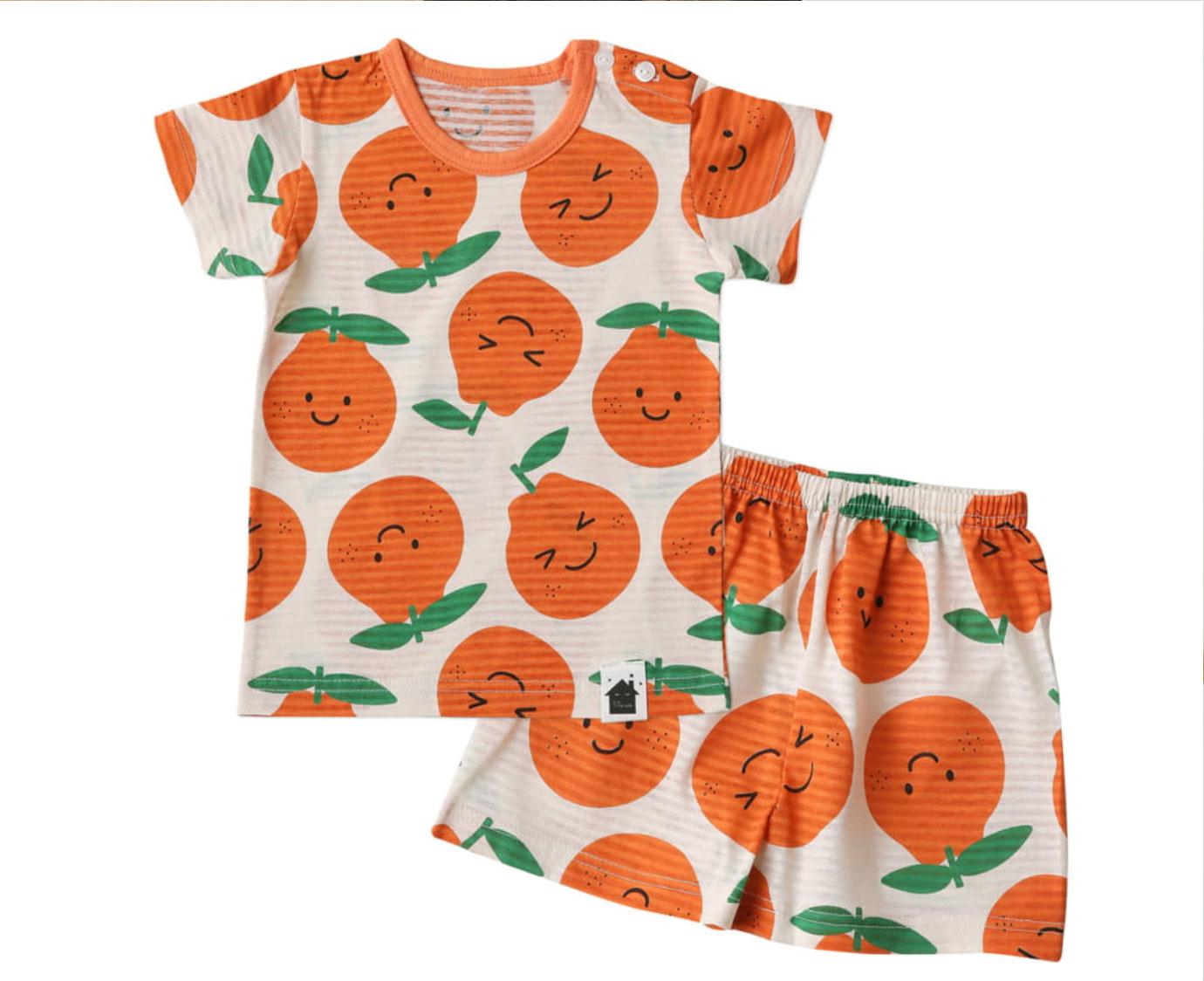 Organic Loungewear 'Tangerine'