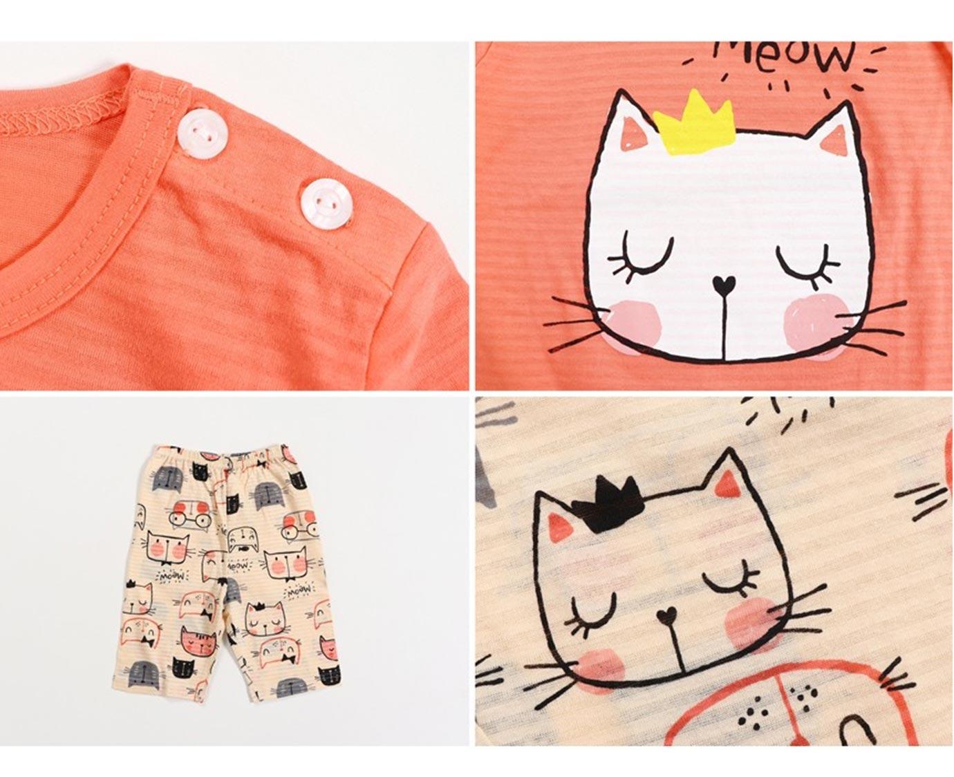Set 'Peaches + Cat' Maat 86-92