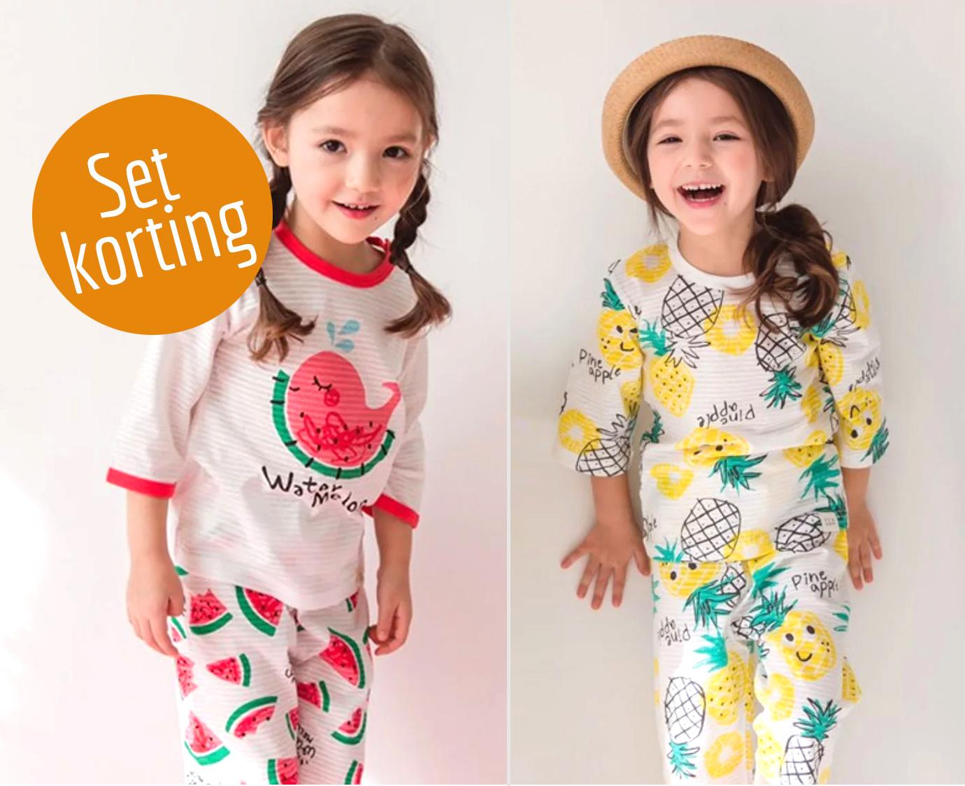 Set ' Melon & Pineapple' Maat 86-92
