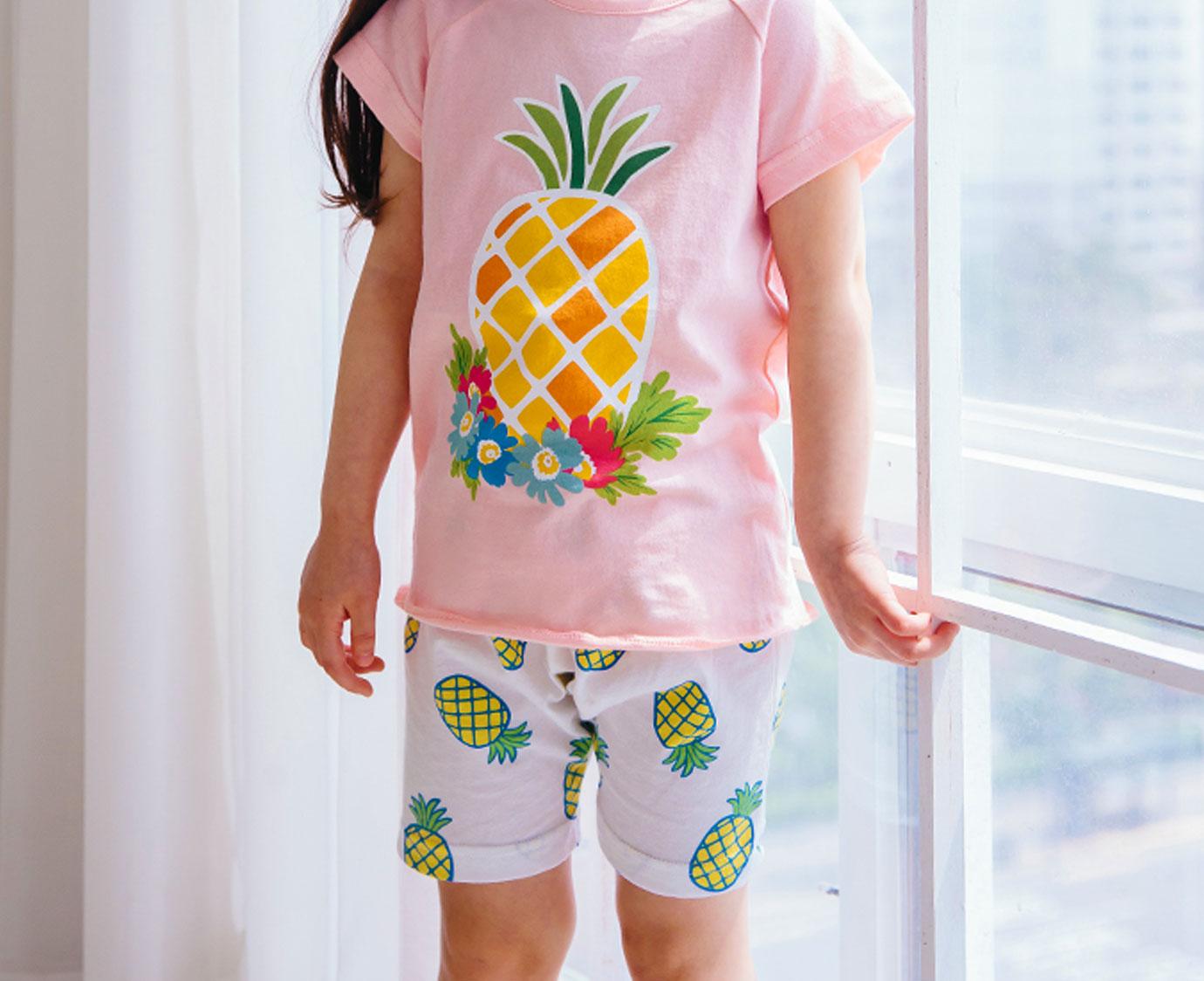 Set 'Melon & Pineapple' Maat 128