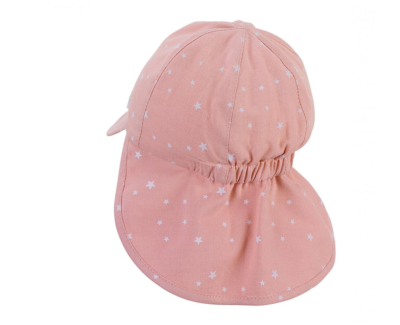 Zomerhoedje 'Star pink' Maat 2-4 jaar