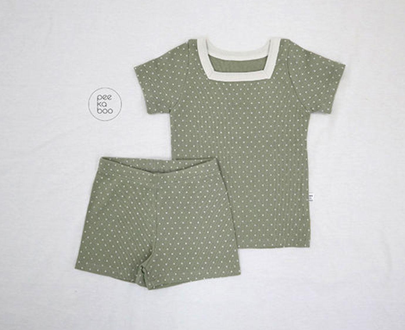 Loungewear  'Khaki Dots'