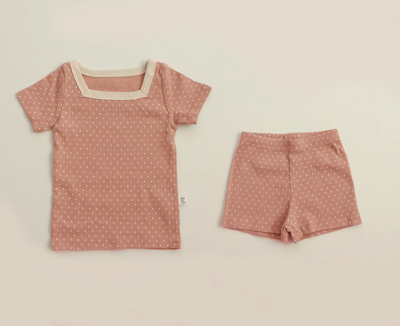Loungewear 'Rose Dots'