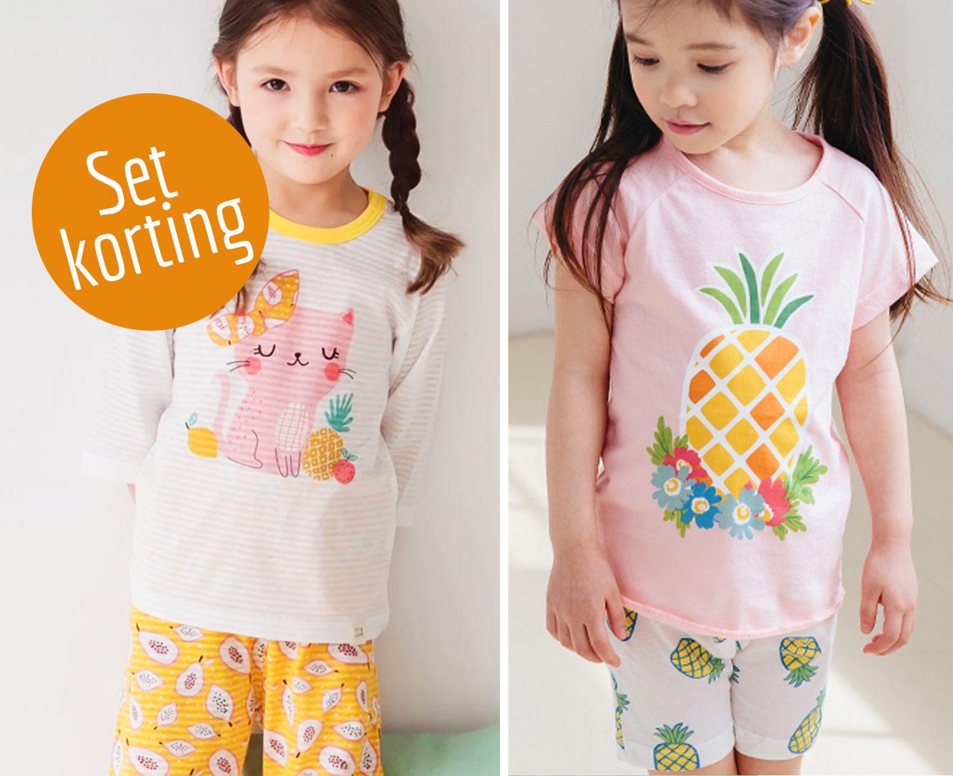 Set 'Cat & Pineapple' Maat 116-122
