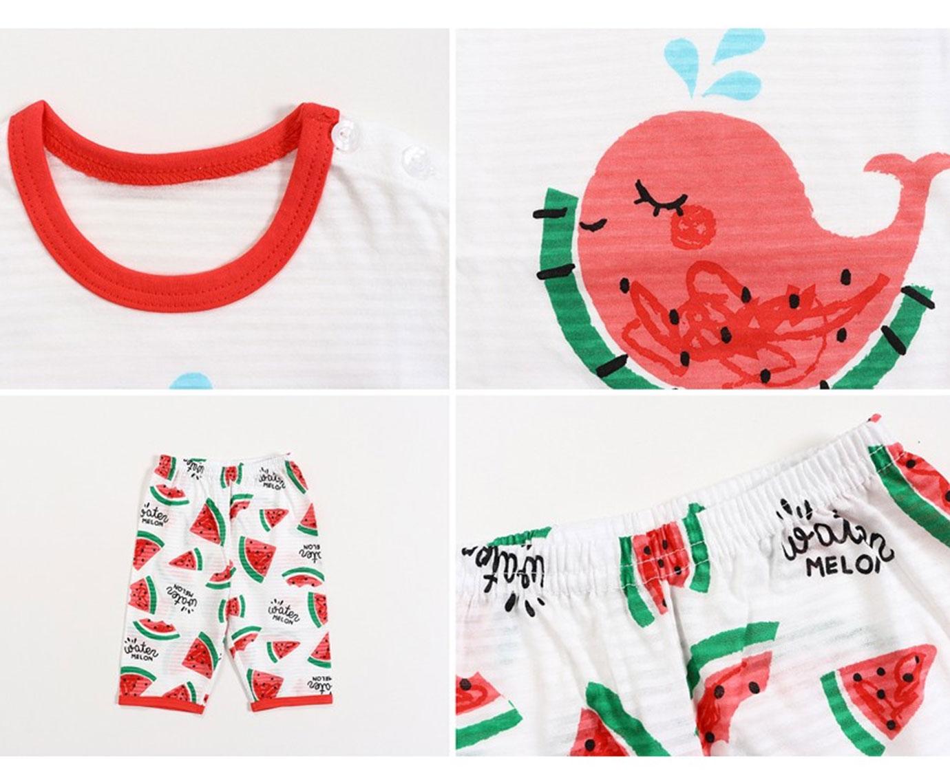 Set 'Melon & Cat' Maat 104-110