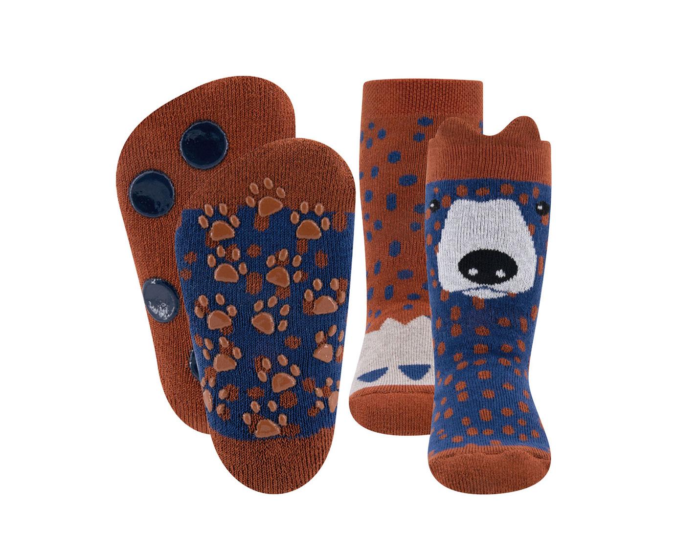 Set Slipsokken 'Bear' kleur