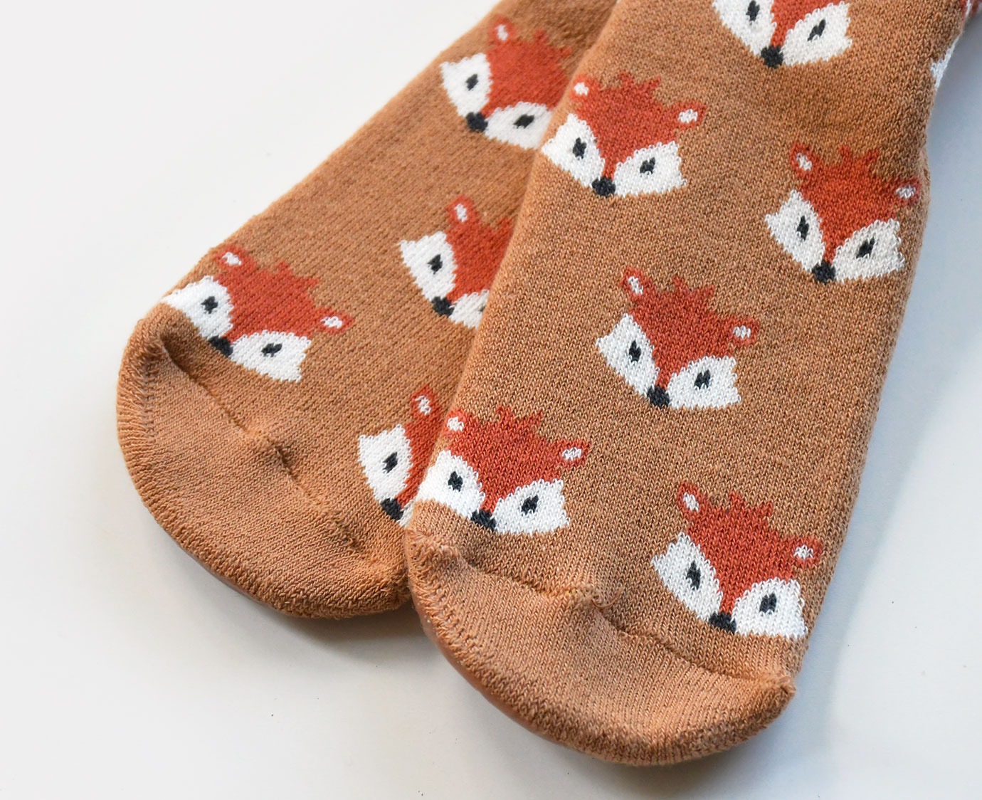 Anti-Slip sokken 'Fox' Sand kleur