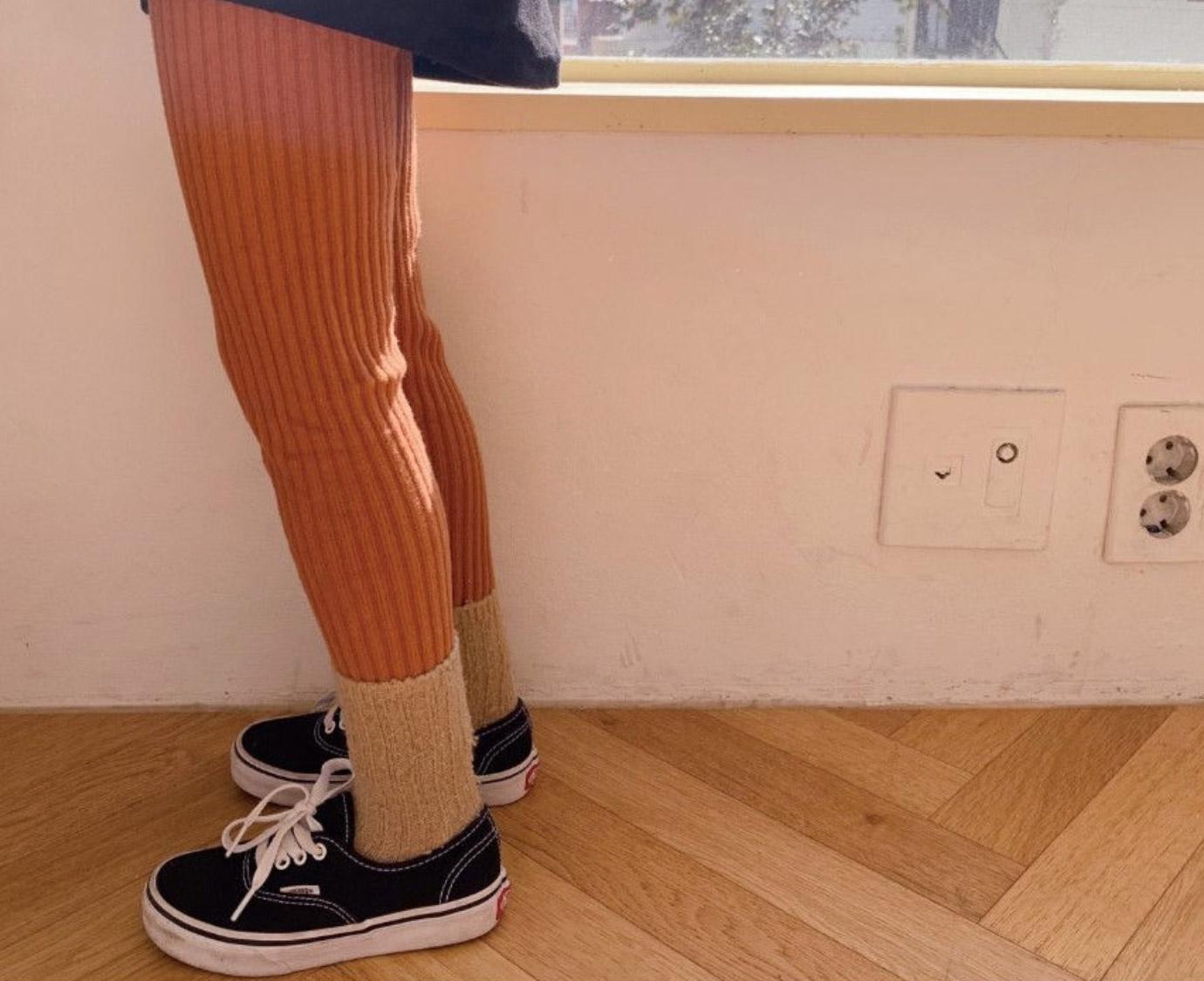 Legging 'Rib Roest'