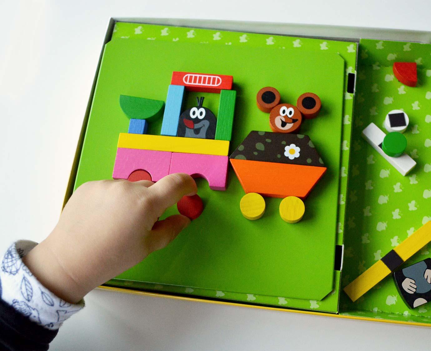 Mini Magneetbord  'Molletje' kleur
