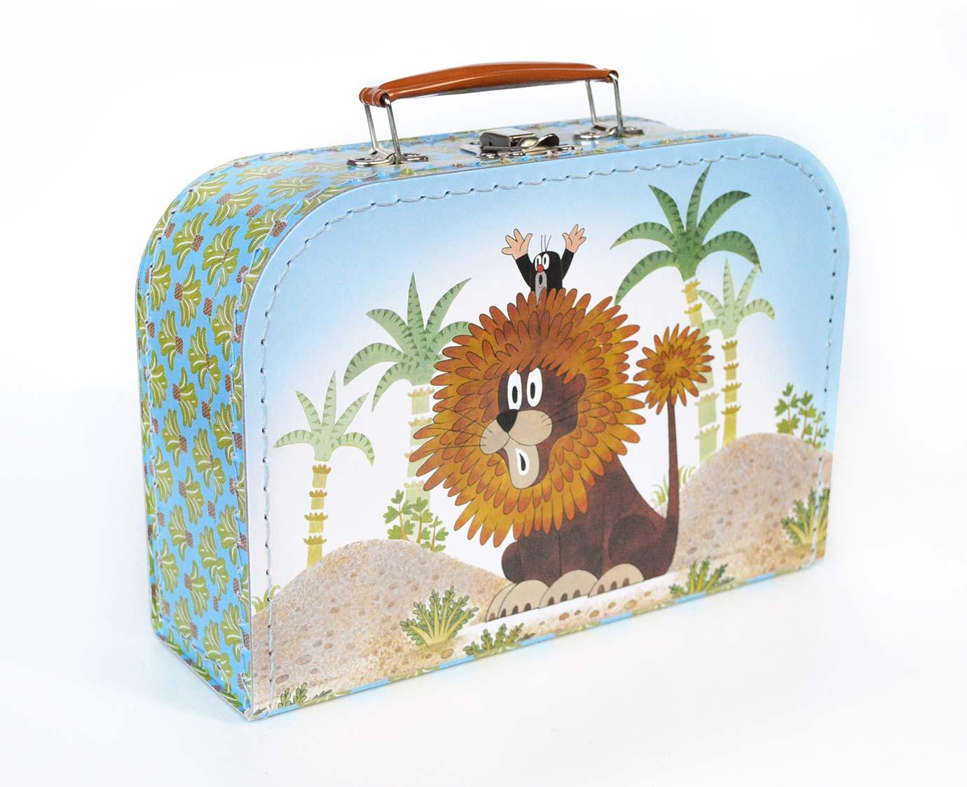 Koffertje 'Molletje en leeuw'