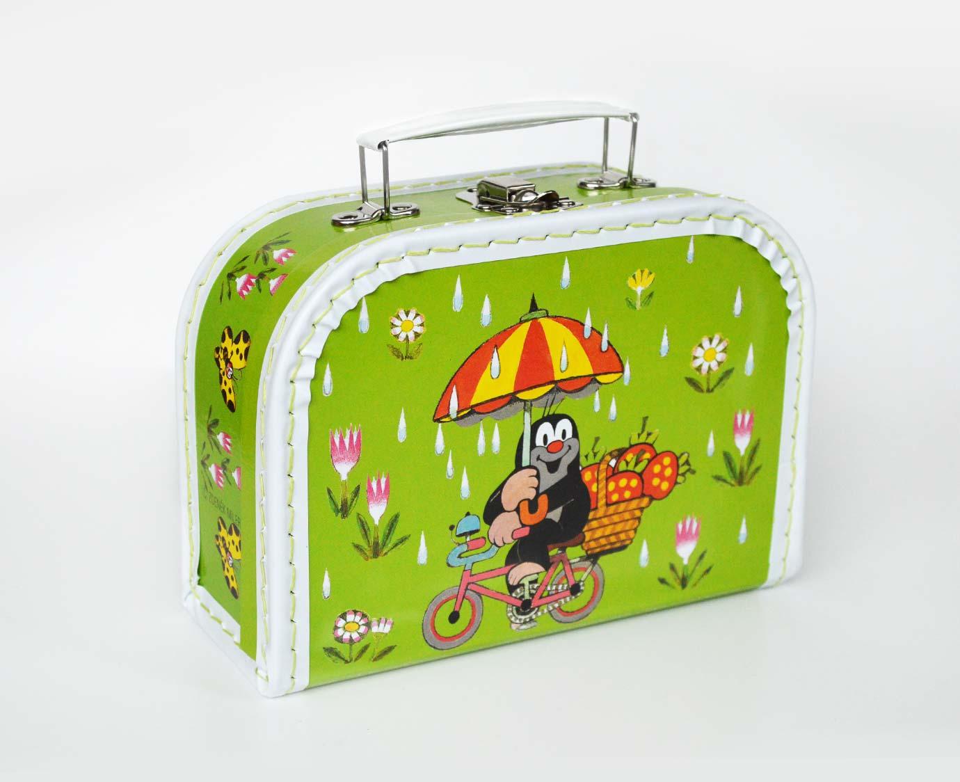 Koffertje 'Molletje met paraplu'