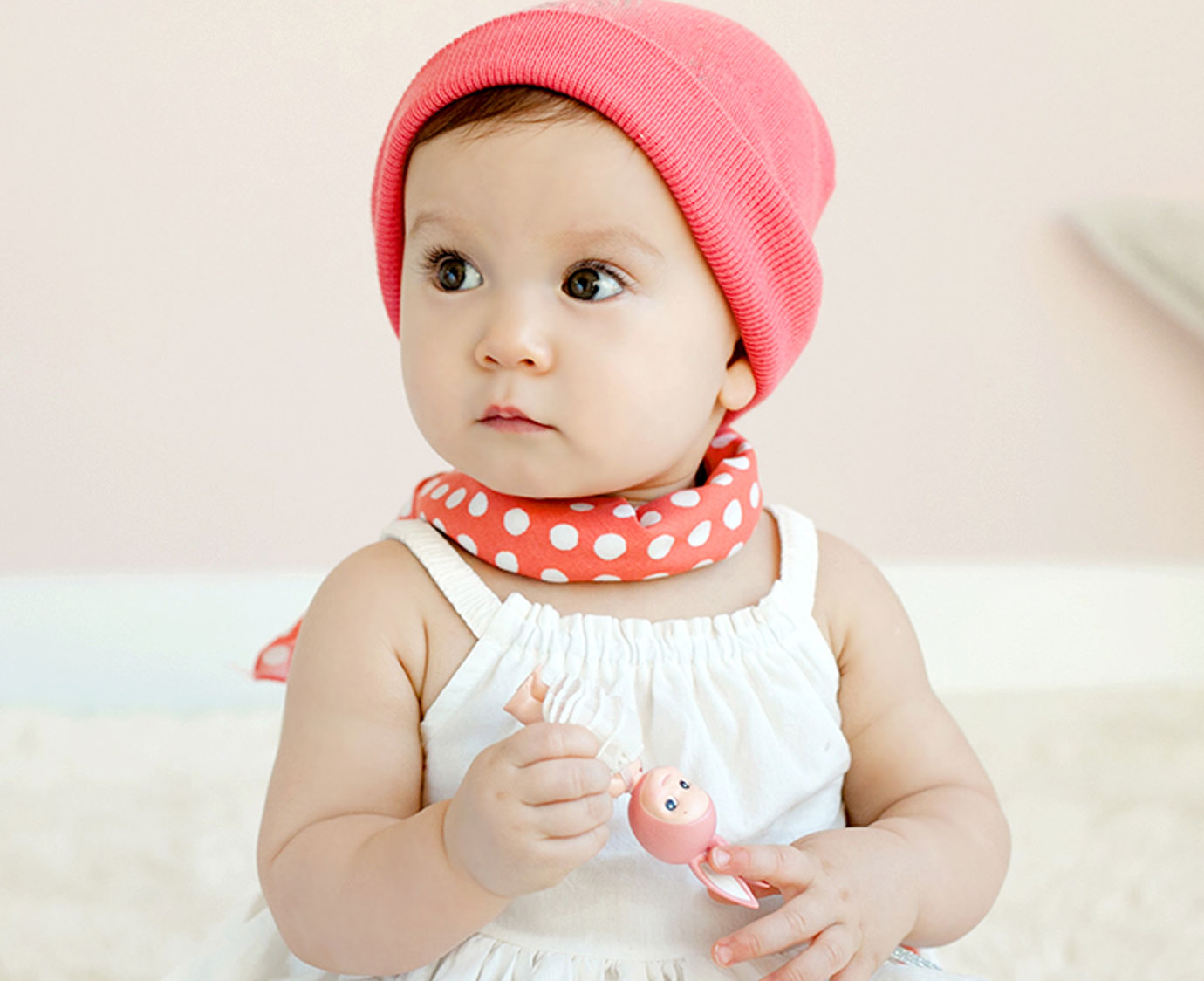 Petit scarf 'Bubbles'