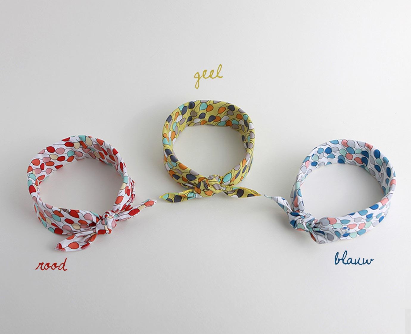 Petit scarf 'Balloon'
